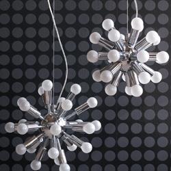 hanglamp glas organische vorm