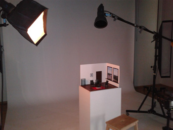 Fotoshoot in studio