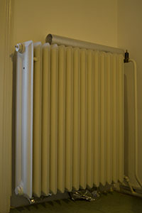 oude radiator
