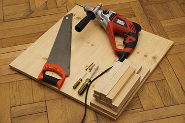 Salontafel van hout zelf maken hoe ga je te werk for Zelf meubels maken van hout
