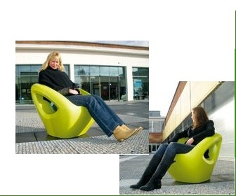 Trendy Design buitenstoel van Lonc