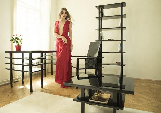 Minimalistische design meubels ichi go ichi e: boekenkast