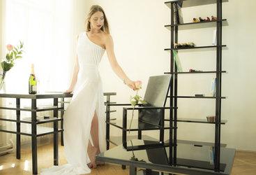 Minimalistische design meubels voor de studeerkamer - ichi go ichi e