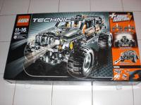 Off-roader van Lego