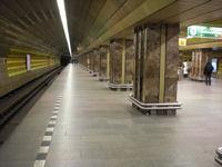 Metrostation Mustek in Praag