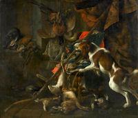 Rijk Gestoffeerd Jachtleven van Cornelis Lelienberg