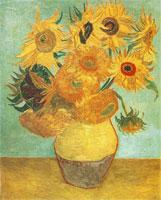 Vincent van Gogh: Vaas met 12 zonnebloemen