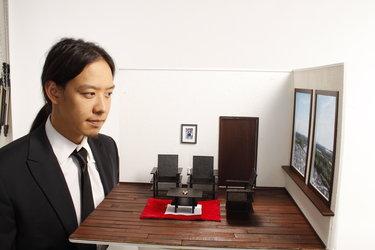 Appartement in miniatuur, schaal 1:10