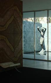 Barcelona Paviljoen van Ludwig Mies van de Rohe