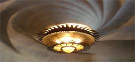 Lamp ontworpen door Antoni Gaudí, Casa Batllo
