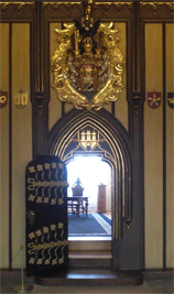 Interieur van het oude gemeentehuis van Praag