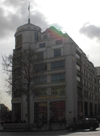 Louis Vuitton Flagship Store Parijs