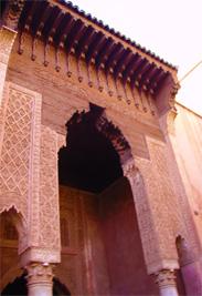 Oude paleis in Marrakech